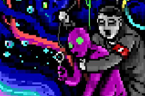 Join R2 D2 and Hitler on an unforgettable ANSI acid trip ...