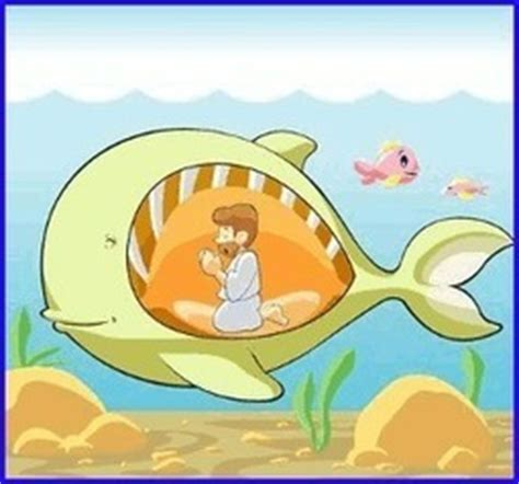 Jonás y la ballena - Cuentos cortos para...