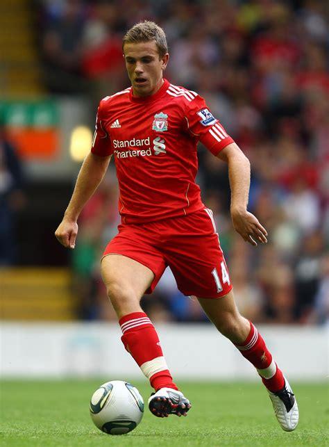 Jordan Henderson in Liverpool v Valencia - Pre Season ...