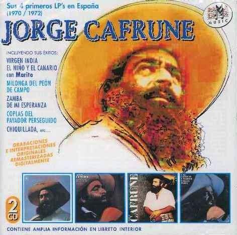 JORGE CAFRUNE | DISCOS PARA EL RECUERDO