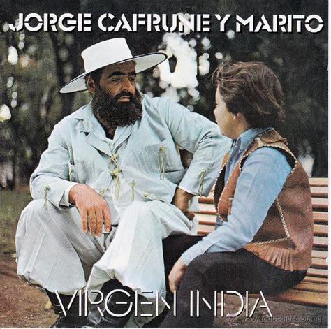 jorge cafrune y marito - virgen india - cd - Comprar en ...