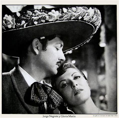 Jorge Negrete y Gloria Marín. En:  Un gallo en corral ...