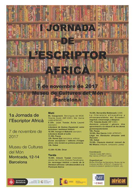 Jornada del escritor africano en el Museo de Culturas del ...