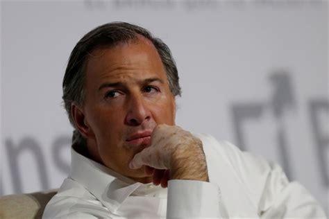 José Antonio Meade, candidato presidencial del PRI, se ...