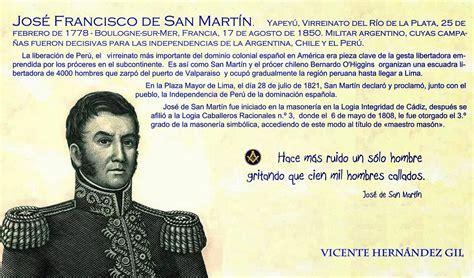 José de San Martín, biografía masónica