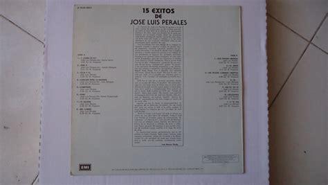 José Luis Perales   15 Grandes Exitos   $ 150.00 en ...