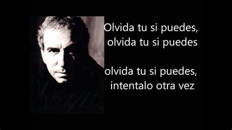 José Luis Perales   Olvída me si Puedes Letra Lyrics   YouTube