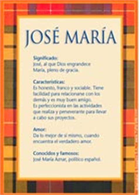 José María, significado del nombre José María   TuParada.com