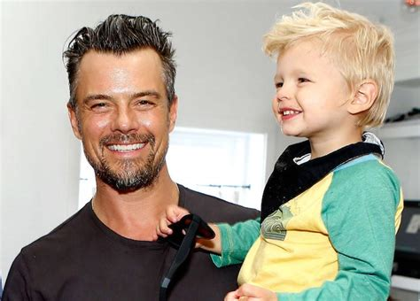 Josh Duhamel And Son Axl Attend TOMS And Oceana Event ...