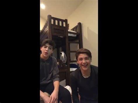 Joshua Rush, Asher Angel Instagram live stream part 1 / 20 ...
