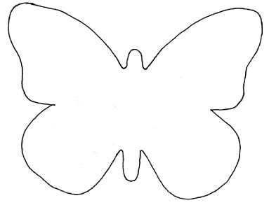 Journey North: Symbolic Monarch Butterfly Template 1