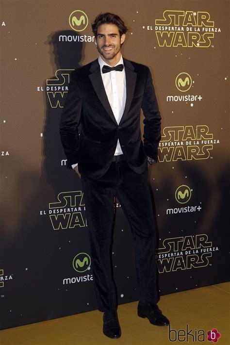 Juan Betancourt en el estreno de  Star Wars: El Despertar ...