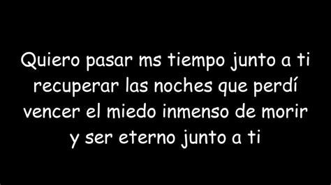 Juanes - Nada Valgo Sin Tu Amor (letra) - YouTube