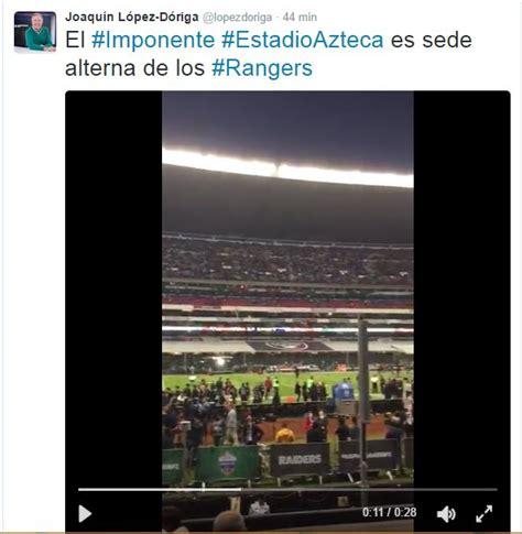 #JuayDeRangers: López-Dóriga resbaló en el Monday Night ...