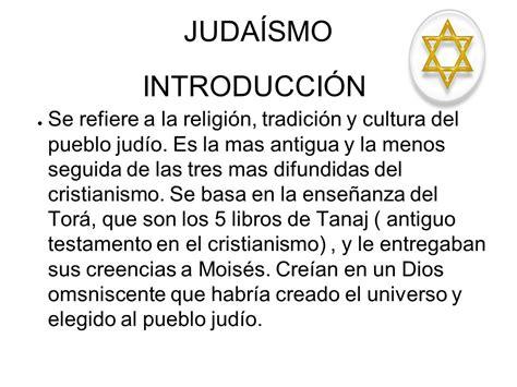 JUDAÍSMO INTRODUCCIÓN - ppt descargar