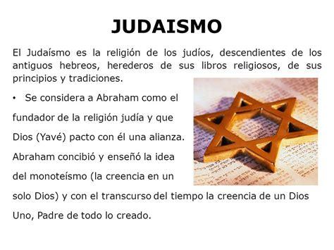 Judaísmo y cristianismo - ppt descargar