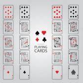 Juego de cartas de poker. | Juego de cartas, poker. póquer ...