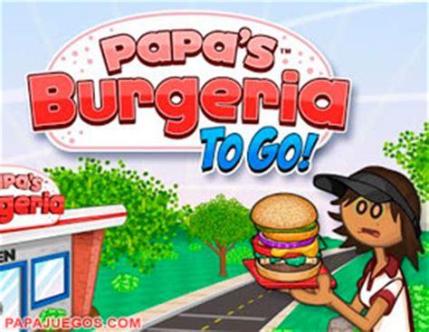 Juego de Papa Louie Burgeria: Cocinar Hamburguesas