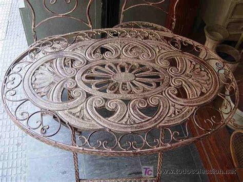 juego de terraza o jardin con mesa ovalada y do - Comprar ...