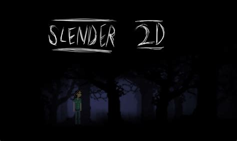 Juego Gratuito: Slender 2D, horror en 8bits! (PC ...