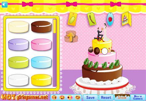 Juego hacer un pastel de boda