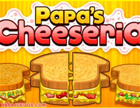 Juego Papa's Louie Cheeseria: Emparedados y Papas Fritas