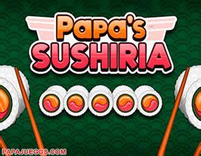 Juego Sushi Cafe Papa Louie (Papa's Sushiria)