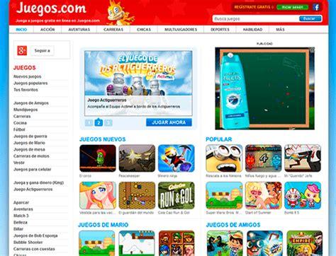 Juegos.com - Juegos Gratis, Juegos en linea, Juegos Online ...