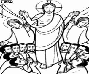 Juegos de Biblia   Nuevo Testamento para colorear ...
