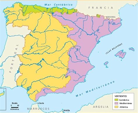 Juegos de Geografía | Juego de Mapa Ríos de España ...