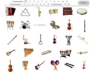 JUEGOS de instrumentos musicales   Aula de Música   Profe ...