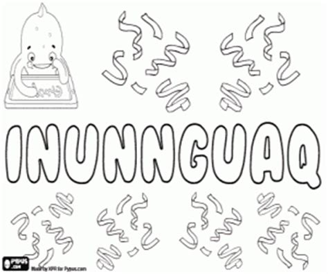 Juegos de Nombres de Niño con I para colorear, imprimir y ...