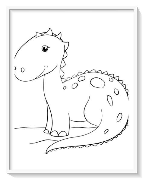 juegos de pintar a dinosaurios rex   Dibujo imagenes