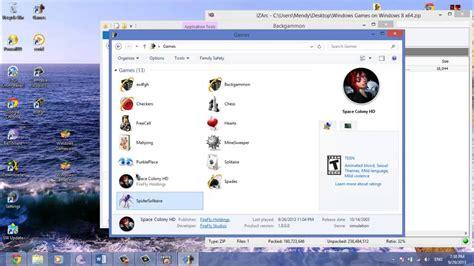Juegos de Windows 7 en Windows 8 y 10 + Carpeta games ...