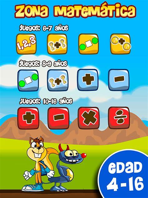 Juegos educativos para niños: Sumas Restas Tablas ...