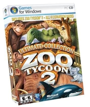 Juegos Microsoft Zoo Tycoon 2 Ultimate Collection Es ...