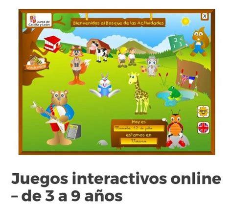 Juegos Online Educativos Gratis Para Ninos De 3 A 5 Anos ...