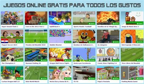 Juegos Online Gratis para todos los gustos | Recursos ...