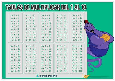 Juegos para aprender las TABLAS DE MULTIPLICAR