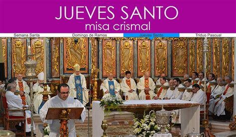Jueves Santo, la Misa Crismal | Conferencia Episcopal de ...