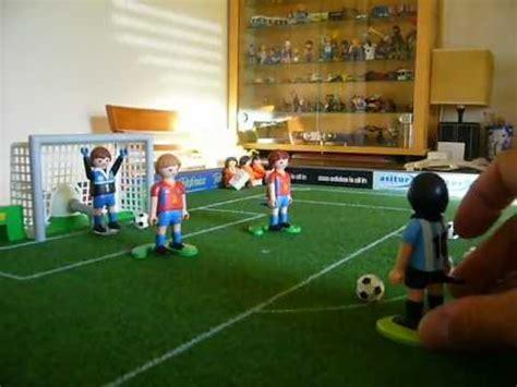 Jugando al Fútbol de Playmobil: Video 1   YouTube