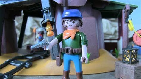 Juguetes Playmobil Mina del Oeste, Western   YouTube