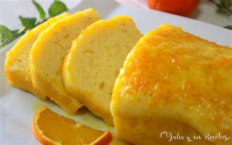 JULIA Y SUS RECETAS: Bizcocho de naranja al microondas con ...