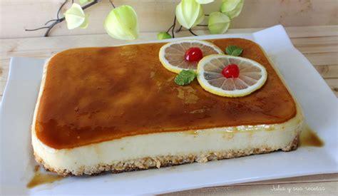 JULIA Y SUS RECETAS: Tarta de limón fría
