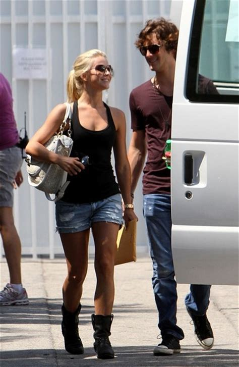 Julianne Hough in Julianne Hough and Diego Boneta at a ...