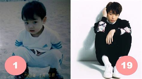 Jungkook BTS Childhood | From 1 To 19 Years Old   YouTube
