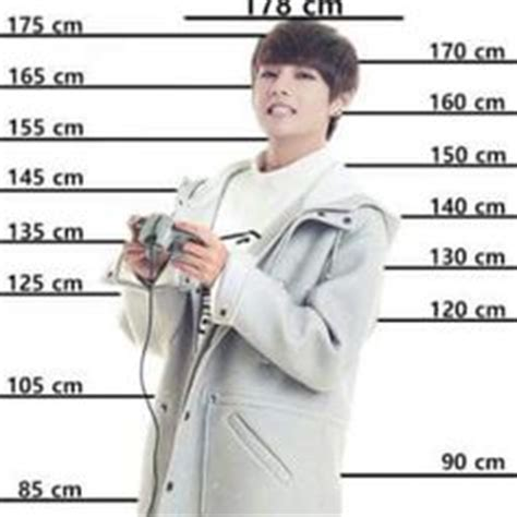 Jungkook - Compare your height with the BTS members. | BTS ...