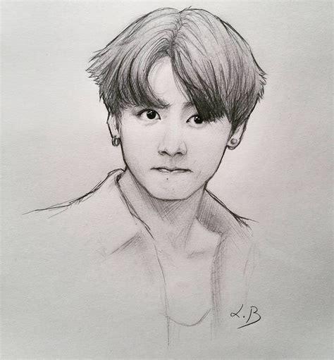 Jungkook Drawing - ClipartXtras