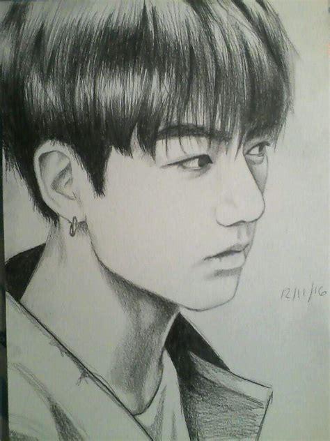 Jungkook Drawing | K-Pop Amino