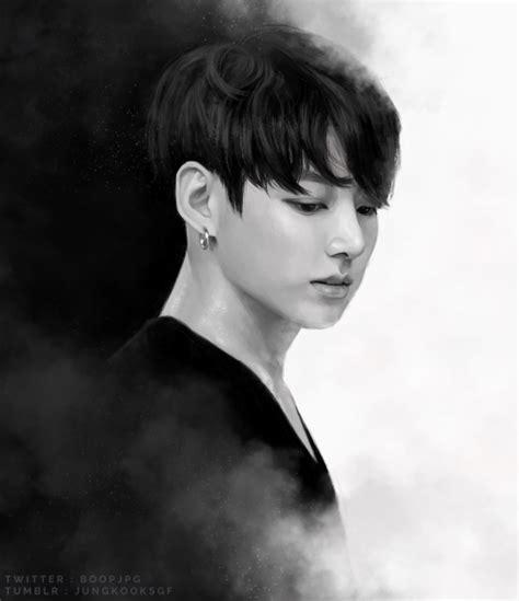 jungkooksgf: new jungkook cover = new jungkook drawing ...
